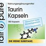 Taurine 650mg 180 gélules - substance pure - sans additifs de la marque fair & pure image 1 produit