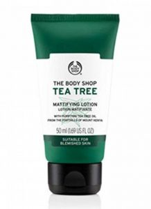 The Body Shop Lotion Matifiante d'Arbre à Thé 50ml de la marque The-Body-Shop image 0 produit